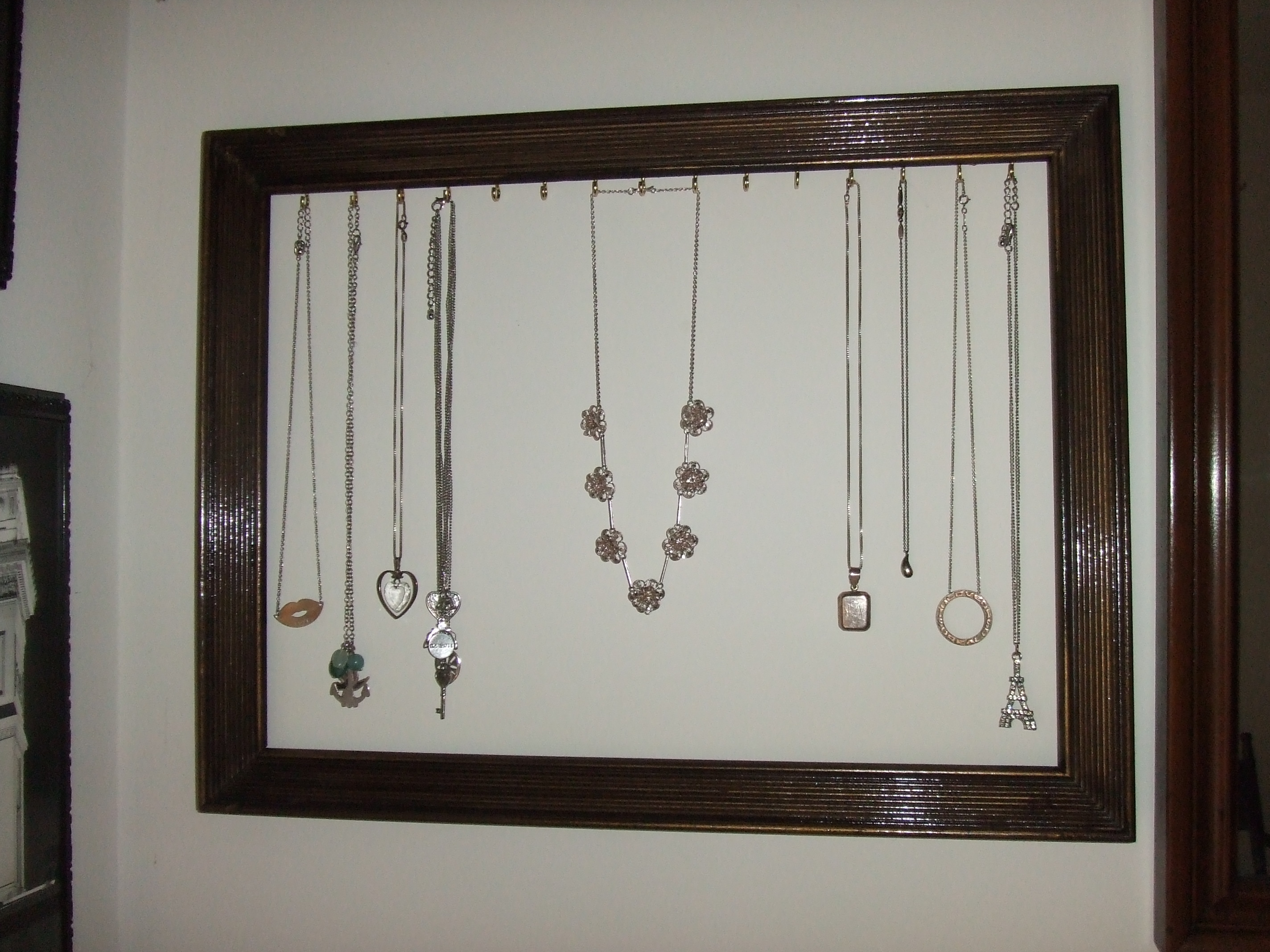 Diy Necklace Holder Diy Necklace Holder Display The Daily Varnish Extra
