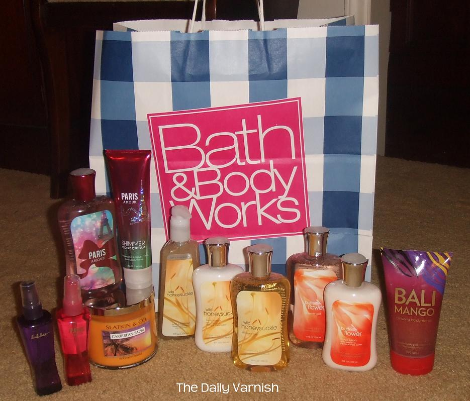 Shopping Diaries Bath Amp Body Works Semi Annual Sale