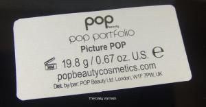 Pop Beauty Pop Portfolio in Picture Pop Label
